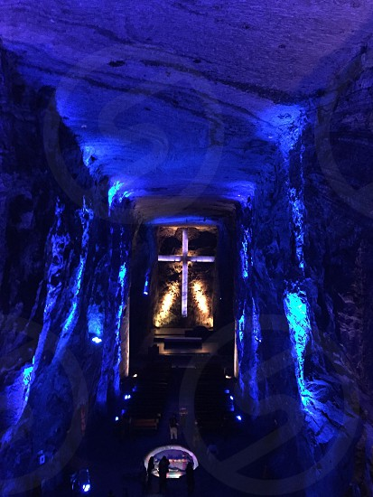 Salt Cathedral Bogota Colombia photo