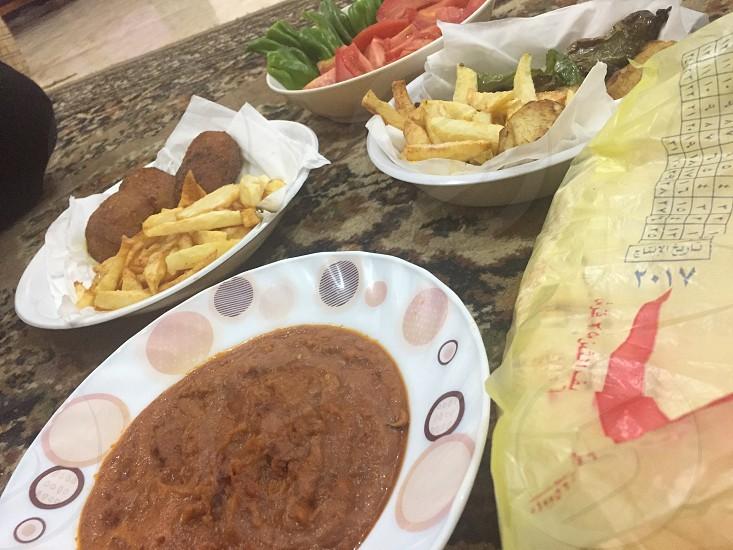 Egyptian food photo