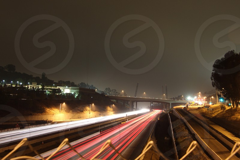 Los Angeles freeway photo