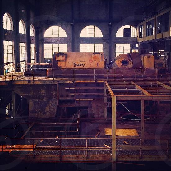 orange factory equipments photo