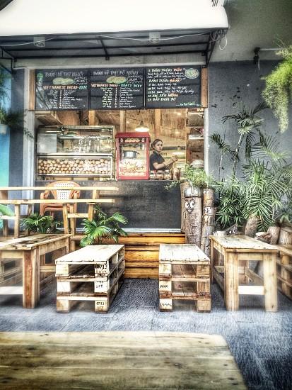 Banh Mi (baguette) stall Ho Chi Minh City photo