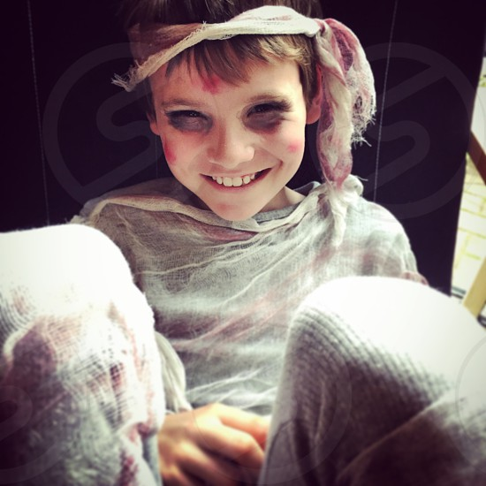 Zombie mummy for Halloween  photo