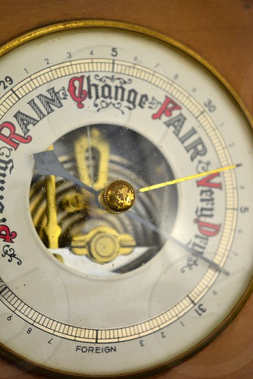 Concepts that Sell barometer changes  photo