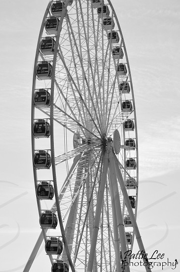 The ferris wheel at the Seattle Waterfront photo