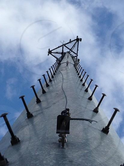 steel tower ladder photo