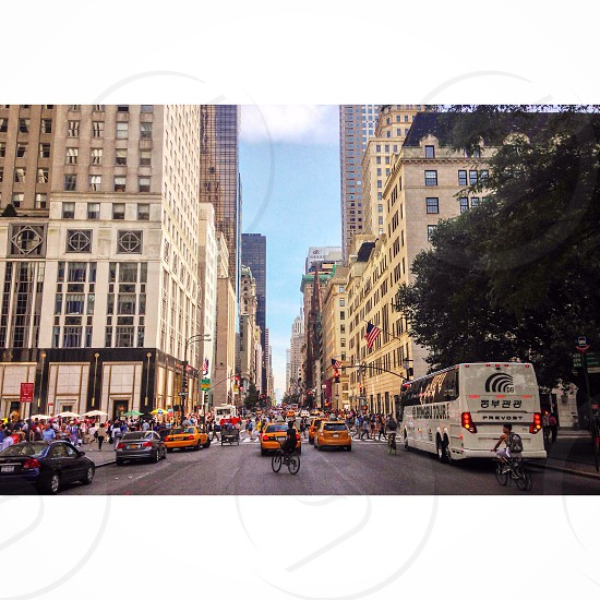 Fifth avenue New York City  photo