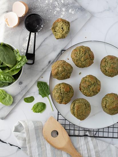 Spinach muffins-2832 photo