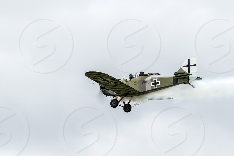 Junkers CL1 Flying over Shoreham Airfield photo