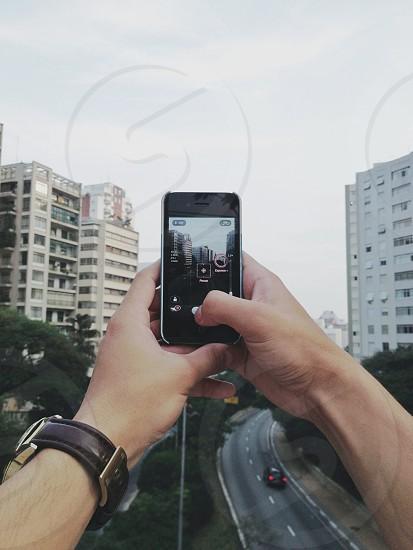 black iphone 4s photo