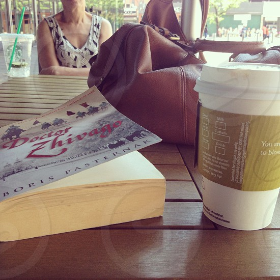 Cafe Brooklyn Sunday reading simple living Russian literature  photo