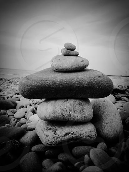Getting creative at the beach...  photo