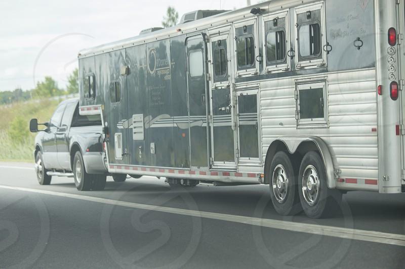 Horse trailer photo