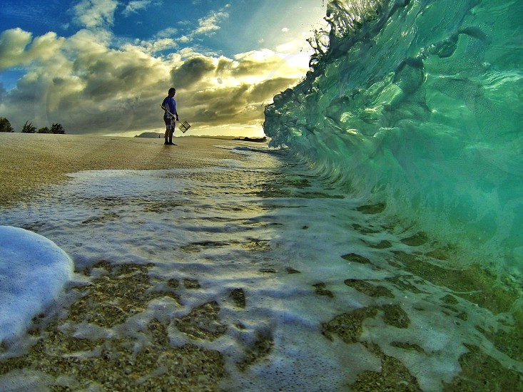 Took this in Feb. 2013 on the North Shore of Oahu while living there. Used a GoPro camera. photo