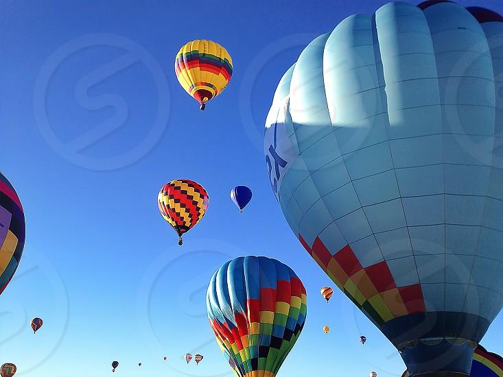 white air balloon  photo