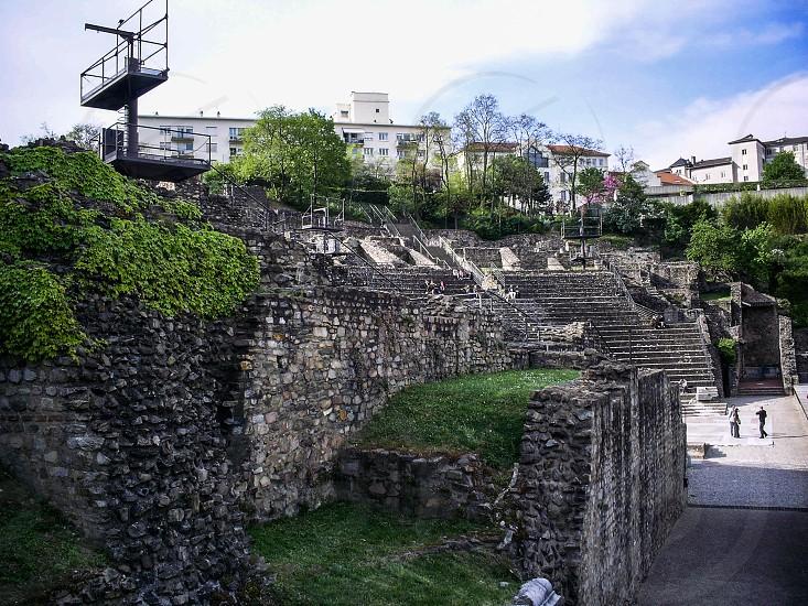 Ancient Theatre of Fourvière - Lyon France photo