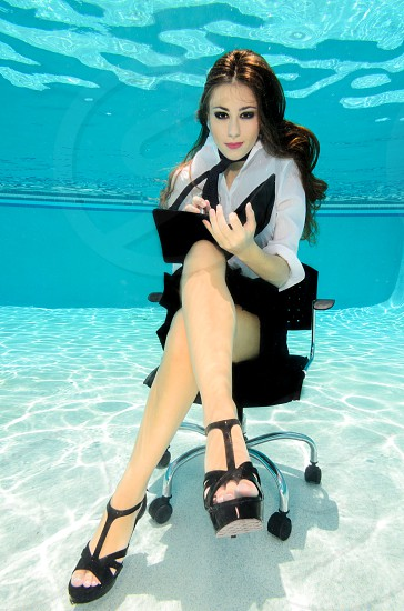 Every feel underwater at work?  photo