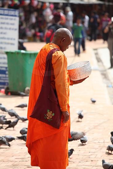 Nepali monk photo