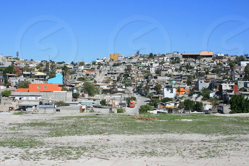 View of a city in Baja California photo