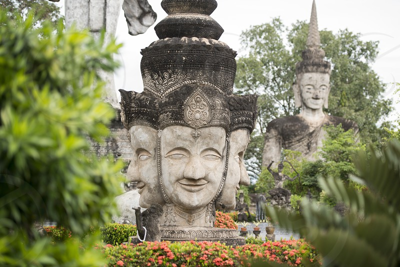 the Sala Kaew Ku Sculpture Park near the town of Nong Khai in Isan in north east Thailand on the Border to Laos photo