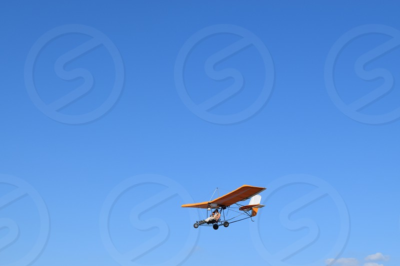 freedom sky plane relax photo