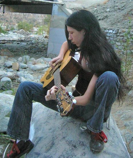 Guitar Girl photo