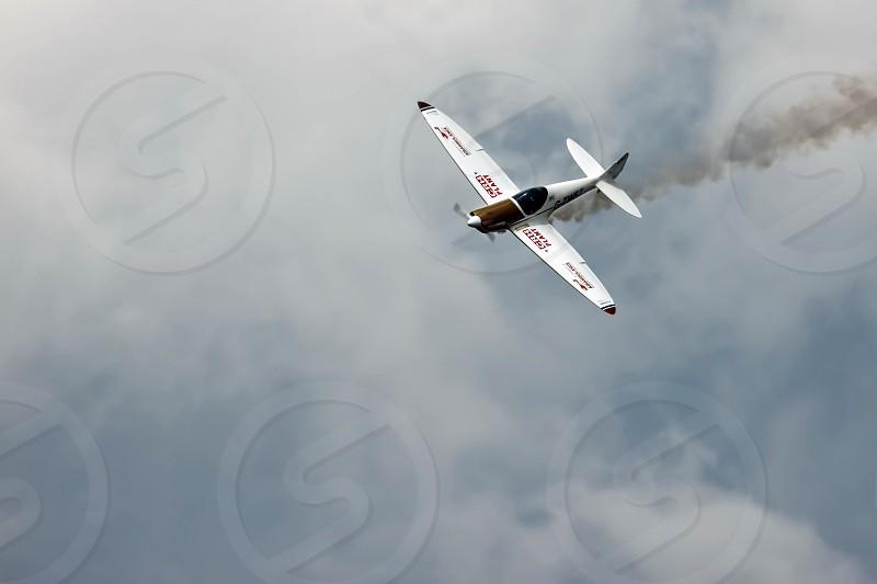 SA180 Twister aerial Display at Biggin Hill Airshow photo