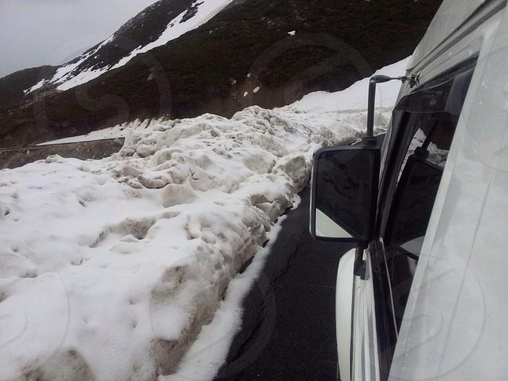 Rolling down from Sinthan Pass Kashmir photo