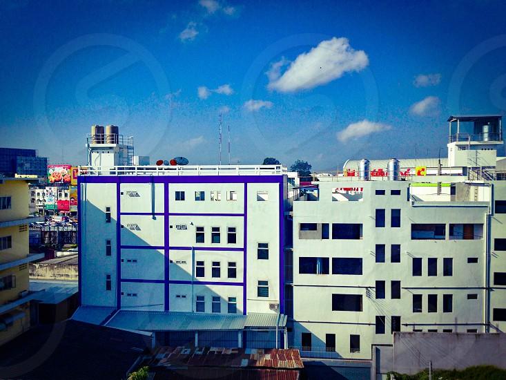 Downtown Nakhon Sawan City Thailand photo