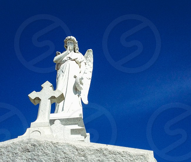 New Orleans; NOLA; cemetery; Angels  photo
