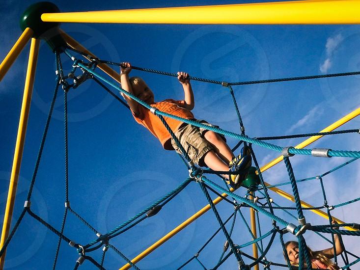 Spiderweb playgrounds photo