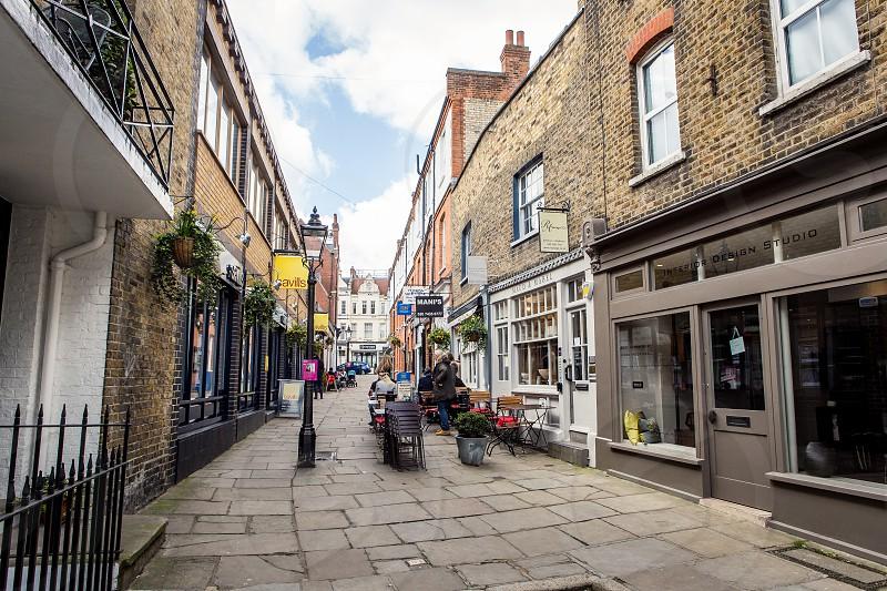 Perrin's Lane Hampstead London photo
