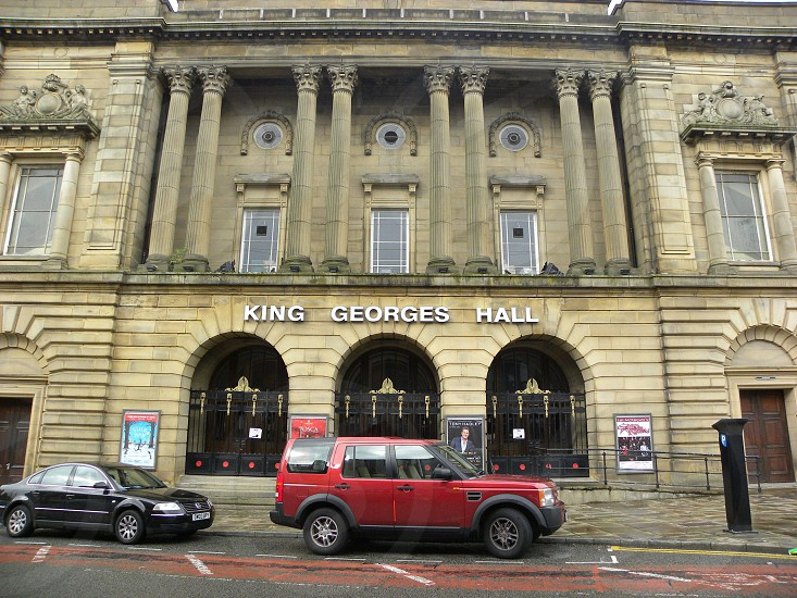 UK. ENGLAND. BLACKBURN. The St. Georges Hall building.      photo
