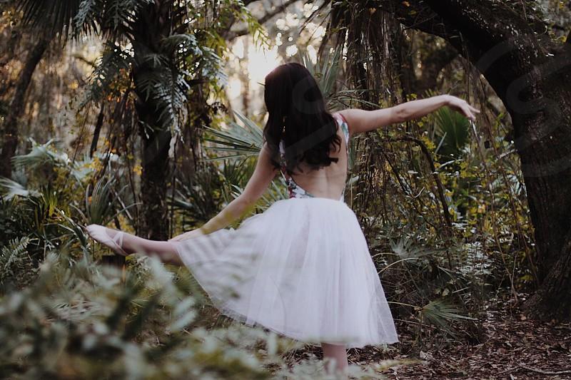 Girl ballet pretty photo