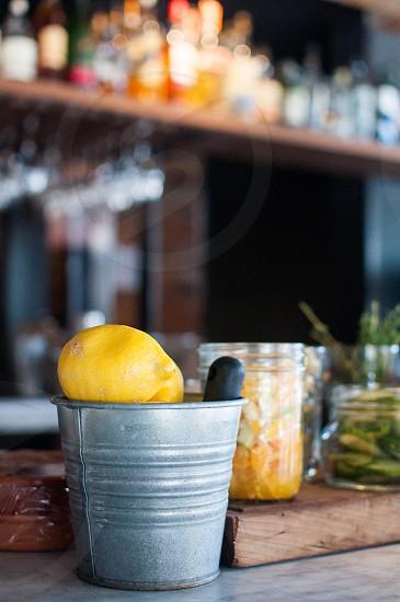 Fresh bar fruit.  photo