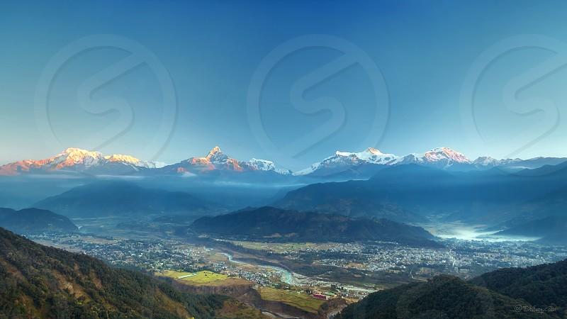 Sarangkot Pokhara Nepal photo