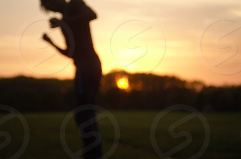 Side flips and sunsets out of focus. photo
