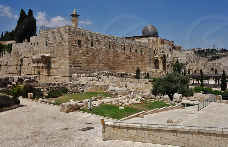 The Al Aqsa Mosque in Jerusalem photo