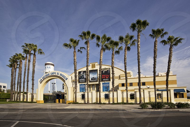 city national grove of anaheim music venue concert southern california photo