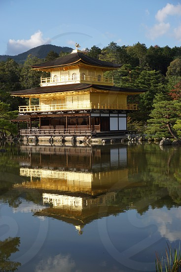 The Golden Temple. Kyoto. Japan photo