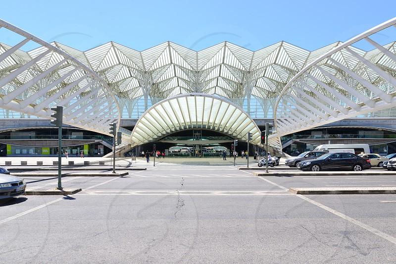 Gare do Oriente in Lisbon was designed by Spainish ArchitectSantiago Calatrava photo