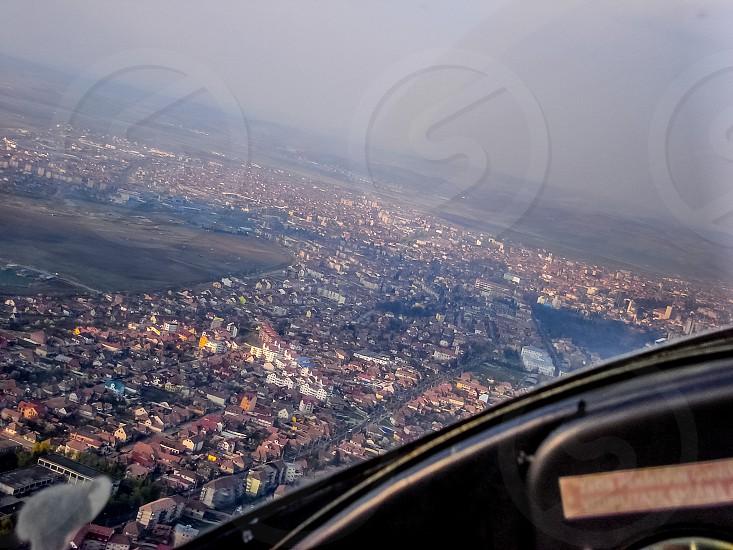Viewed from above - Sibiu/Hermannstadt ( European Capital of Culture 2007 ) - Sibiu City Transylvania Romania 1000m 17-07-2013 photo