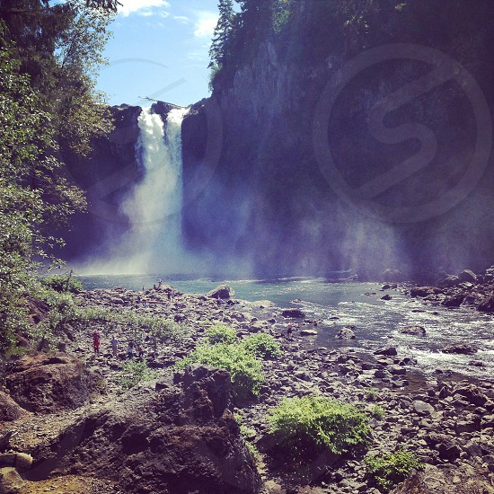 Snoqualmie Falls Washington photo