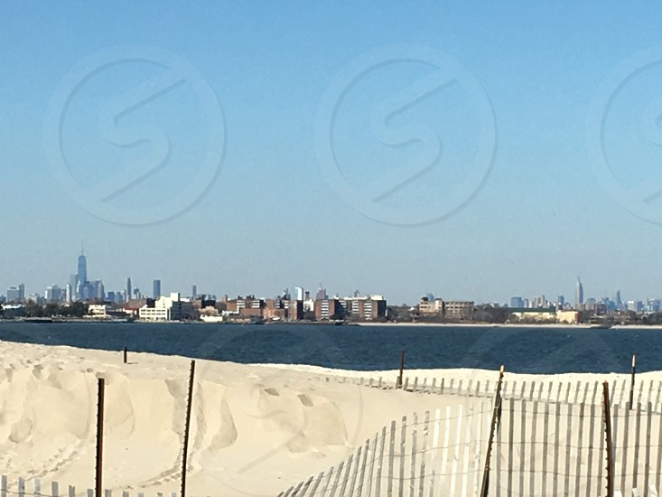 NYC Skyline Breezy point NY photo