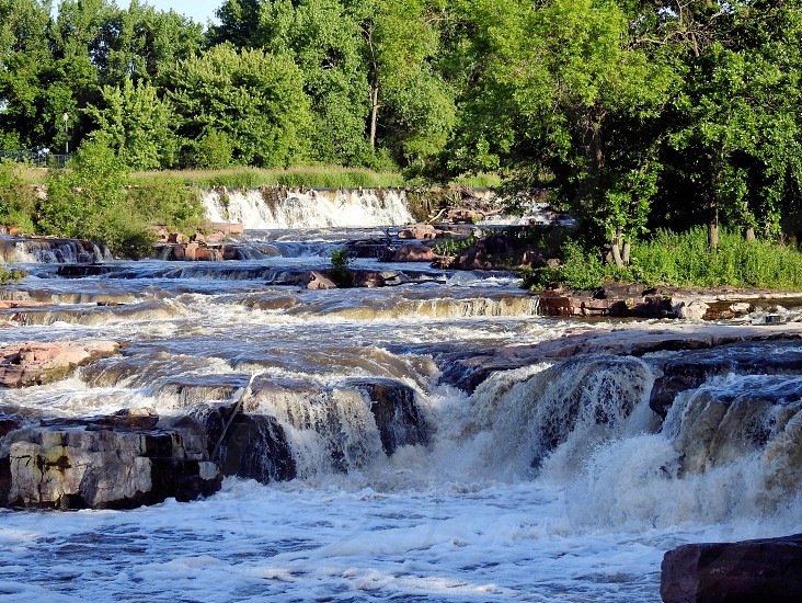 Falls Park Sioux Falls South Dakota          photo