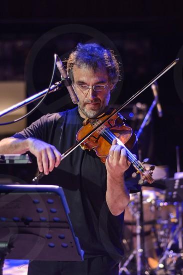 Violin player photo
