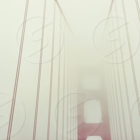 suspension bridge cables photo