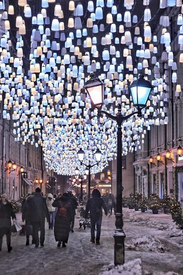 Beautiful street view  photo
