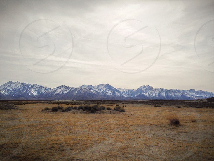 High Eastern Sierras near Mammoth Lakes Ca photo