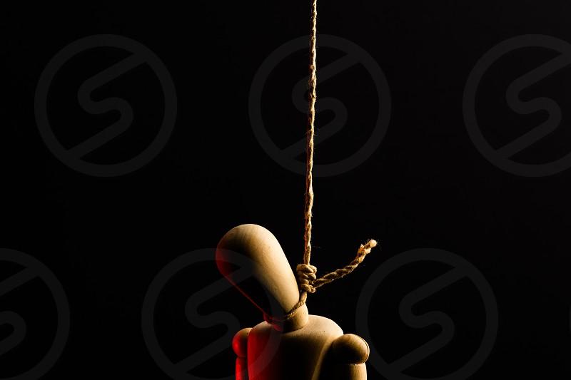 Hangman in studio  photo