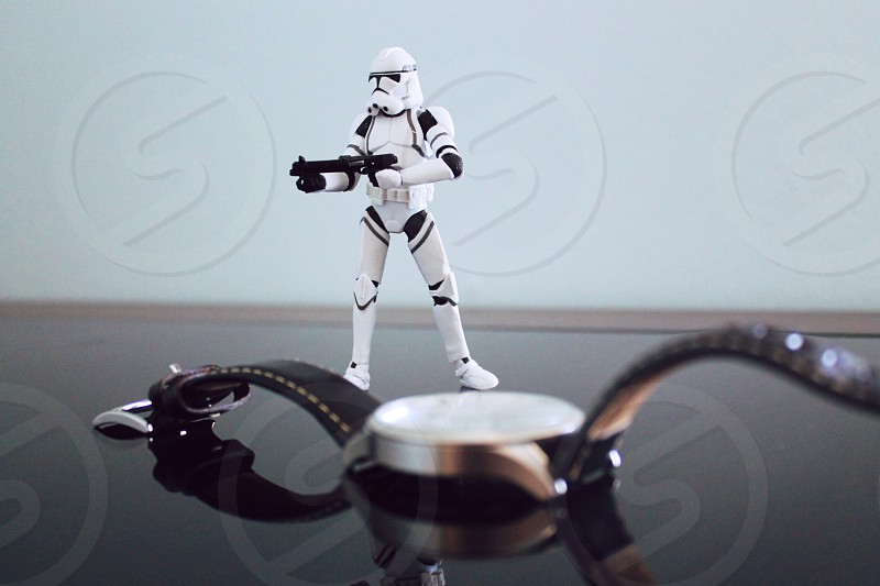 white trooper toy photo